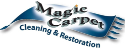 Magic Carpet Cleaning & Restoration South Portland Cape Elizabeth Portland Maine Logo